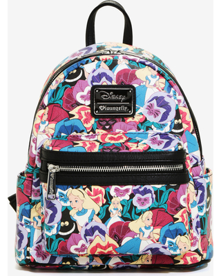 Spring Shopping Special  Loungefly Disney Alice In Wonderland Floral ... a8220c30dab3a