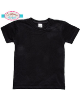 Black Knitted Toddler T-Shirt - 4T