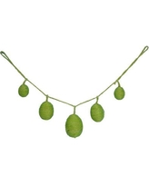 The Holiday Aisle Egg Garland HLDY6861 Color: Green