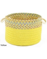 Kids Place 10 x 8-inch Basket by Rhody Rug (Yellow)