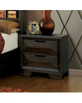 Union Rustic Bender Contemporary 2 Drawer Nightstand UNRS1979
