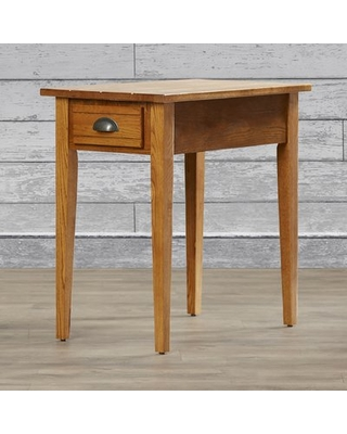 Wilfredo Chairside End Table with Storage Charlton Home