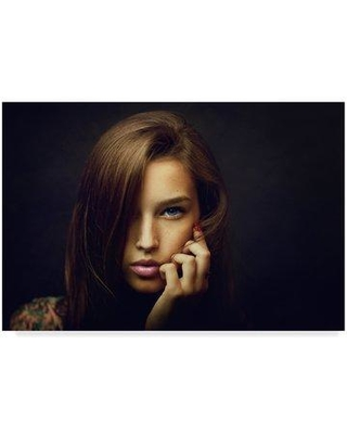 """Trademark Art 'Tanya Picture' Photographic Print on Wrapped Canvas 1X06593-CGG Size: 12"""" H x 19"""" W x 2"""" D"""