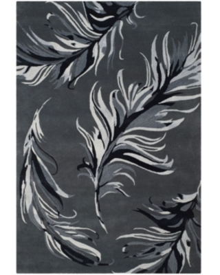 Safavieh Allure Feather Gray 5' x 8' Area Rug