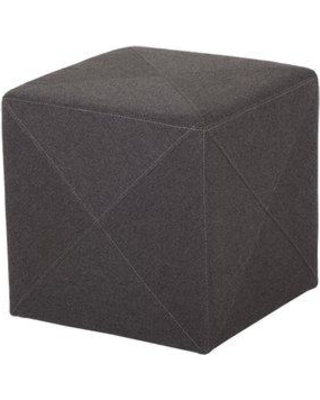 Discover Deals On Wrought Studio Fishback Jackson Cube Ottoman Upholstery In Dark Gray Size Small Width Under 18 Wayfair Acba15719b6541cf9afd68762f295928