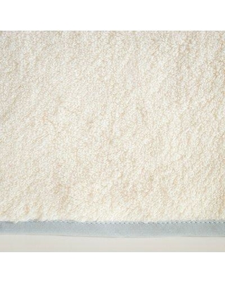 Home Treasures Linens Bodrum Turkish Cotton Washcloth BOD8FAC1313- Color: Ivory/Sion