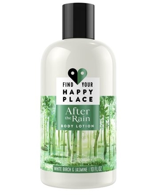 Find Your Happy Place After the Rain Moisturizing Body Lotion White Birch and Jasmine, 10 fl. Oz.