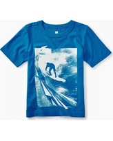 Tea Collection Photoreal Surf Graphic Tee
