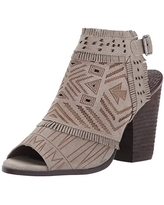 Naughty Monkey Women's Sweet Jackie Ankle Bootie, Light Taupe, 10 M US