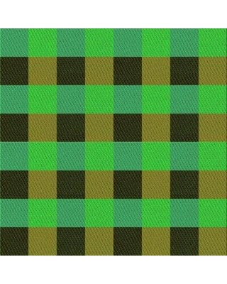 East Urban Home Abstract Wool Green Area Rug W002504010 Rug Size: Square 4'