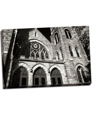 Fleur De Lis Living 'Stately Gothic II' Photographic Print on Wrapped Canvas BI046756