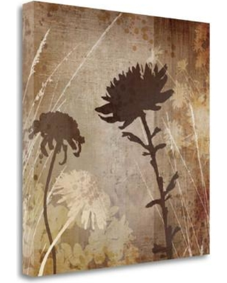 """Tangletown Fine Art 'Algarve Silhouettes II' Graphic Art Print on Wrapped Canvas CA312895-2020c Size: 20"""" H x 20"""" W"""