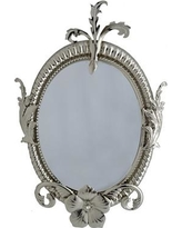 Three Star Baroque Wall Mirror RS2720
