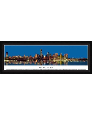 BlakewayPanoramas New York New York by James Blakeway Framed Photographic Print NY22M