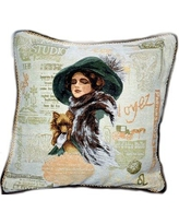 Tache Home Fashion Puppy Day Out Pillow Case 1354-2PC