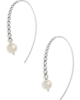 Women's Lagos Threader Pearl Earrings