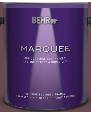 BEHR MARQUEE 1 gal. #130F-7 Semi Sweet Eggshell Enamel Interior Paint and Primer in One