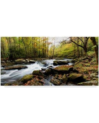 """Millwood Pines 'Tremont Panorama II' Photographic Print on Wrapped Canvas MIPN1418 Size: 16"""" H x 32"""" W x 2"""" D"""