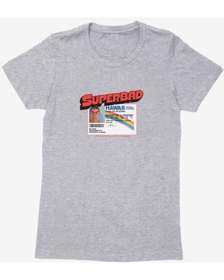 Superbad McLovin Driver's License Womens T-Shirt