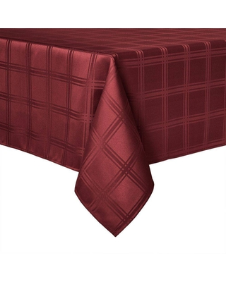 """120"""" x 60"""" Element Tablecloth Red - Town & County Living"""