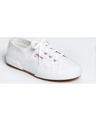 Superga Cotu Sneaker, Size 8.5Us in White Canvas at Nordstrom