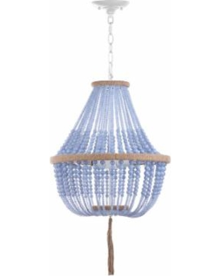Safavieh Kristi Beaded Chandelier, Blue