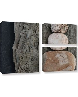 ArtWall 'Modern Zen' by Elena Ray 3 Piece Photographic Print on Wrapped Canvas Set 0ray221g2436w