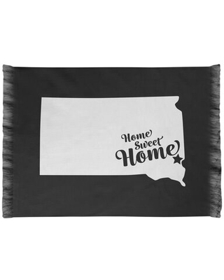 Home Sweet Sioux Falls Black Area Rug East Urban Home