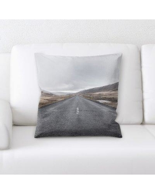 Latitude Run Imperial A Road to Many Places Throw Pillow BI135214