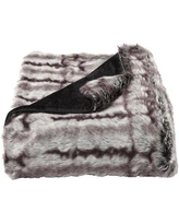 Special Prices On Millwood Pines Leavens Chinchilla Faux Fur Blanket Faux Fur In Brown Black Size Throw Wayfair Fa5b917c4b8c463790096633da1f0d87