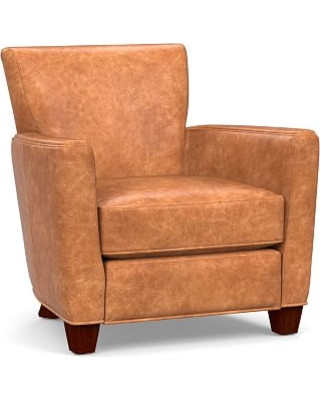 Amazing Savings on Irving Square Arm Leather Power Recliner ... 7f2e62b63