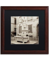 """Trademark Art 'Lucca I' Framed Photographic Print ALI5115 Size: 16"""" H x 16"""" W x 0.5"""" D, Frame Color: Birch, Mat Color: White"""