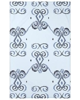 """e by design On the Line Polyester Fleece Throw Blanket HGN246 Size: 60"""" L x 50"""" W x 0.5"""" D, Color: Washed Out"""