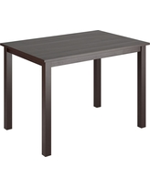 """Atwood Dining Table Wood/Cappuccino (43"""" x 28"""") - CorLiving, Dark Cappuccino"""