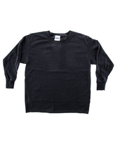 Small Black Youth Long Sleeve T-Shirt