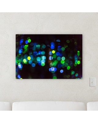 "Ebern Designs 'Blurred out (56)' Graphic Art Print on Canvas BI107245 Size: 30"" H x 40"" W x 2"" D"