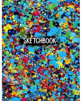 """8.5"""" x 11"""", Personalized Artist Sketchbook: 120 Pages (Paperback)"""