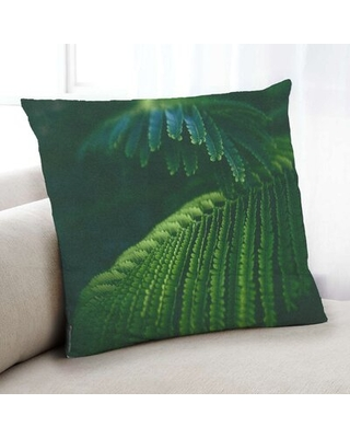 Plants Leaves 25 Throw Pillow Floral Throw Pillow