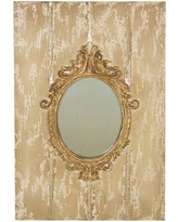 Manor Luxe Somerset Baroque Board and Decorative Wall Mirror ML15854