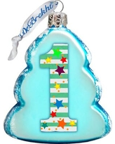 The Holiday Aisle 1 Mini Glass Ornament THLY6661