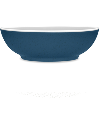 Noritake ColorTrio Blue Coupe Soup/Cereal Bowl