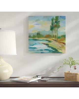 Winston Porter 'Early Spring Landscape II' Acrylic Painting Print on Wrapped Canvas WNST1550