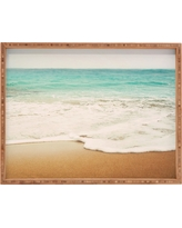 Bree Madden Ombre Beach Rectangle Tray - Blue - Deny Designs, Water