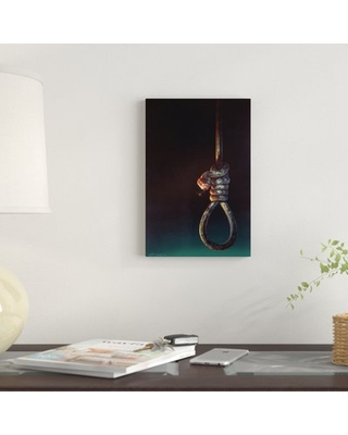 """'Acts of Betrayal' Graphic Art Print on Canvas East Urban Home Size: 18"""" H x 12"""" W x 1.5"""" D"""