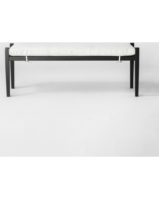 Delicieux Fairmont Metal Patio Dining Bench   Linen   Threshold