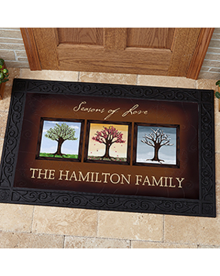 Personalized Doormat - Changing Seasons - 20x35