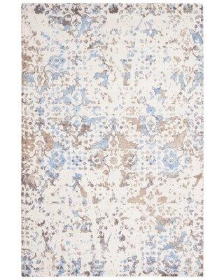 Bungalow Rose Stambaugh Hand-Tufted Blue Area Rug X112870872 Rug Size: Square 6'
