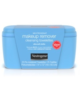 Neutrogena Makeup Remover Cleansing Towelettes & Face Wipes, 25 ct | CVS
