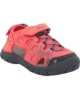 Jack Wolfskin Kid's TITICACA VC LOW kid's mesh sandals with toe protection and velcro closure Sandal, Sugar Coral, US Little Kid's 2 M US Little Kid
