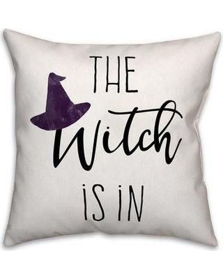 The Holiday Aisle Odysseus The Witch Is in Throw Pillow BI204366